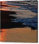 Beach Glow Canvas Print