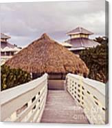 Beach Hut Canvas Print
