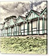 Beach Huts 4 Canvas Print