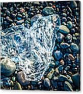 Beach Jewelry - Iceland Ice Photograph Canvas Print