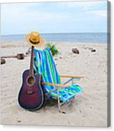 Beach Music Canvas Print