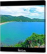 Beach Panorama - Brasil Canvas Print