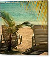 Beach Paradize Canvas Print