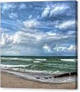 Beach Prerow Canvas Print