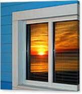 Beach Reflections Canvas Print