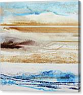 Beach Rhythms And Textures No1a Canvas Print