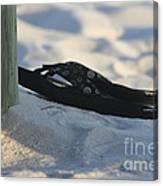 Beach Sandals 1 Canvas Print