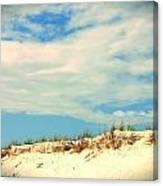 Beach Sky Canvas Print