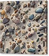 Beach Stones Canvas Print