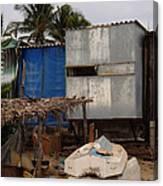 Beach Storage Canvas Print