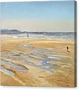 Beach Strollers  Canvas Print