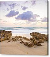 Beach Sunrise At Jupiter Island Florida Canvas Print