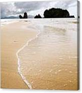 Beach Sunset Canvas Print