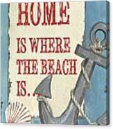 Beach Time 2 Canvas Print