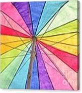 Beach Umbrella 2 Canvas Print