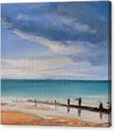 Beach View 1 Canvas Print