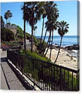 Beach Walkway Canvas Print
