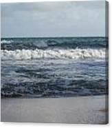 Beach Waves 2 Canvas Print