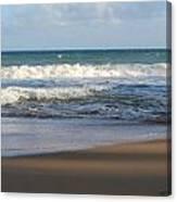 Beach Waves 3 Canvas Print