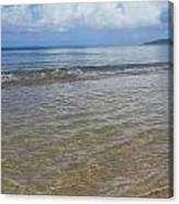 Beach Waves Tall Canvas Print