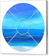 Beach Window Canvas Print