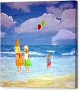 Beachbaloons Canvas Print