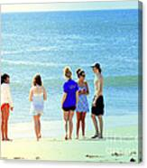 Beaches Of Point Pleasant Nj Canvas Print