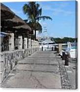 Beachwalk Canvas Print