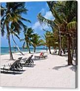 Beachy Belize Canvas Print