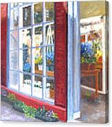 Beacon Hill Flower Shop Canvas Print