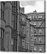 Beacon Hill In Black And White Canvas Print