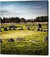 Beaghmore Stone Circles Canvas Print