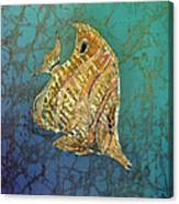 Beaked Butterflyfish Canvas Print