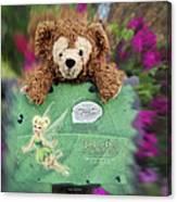 Bear And His Girl Canvas Print
