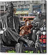 Bear And His Mentors Walt Disney World 07 Canvas Print