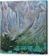 Bear Bait Canvas Print