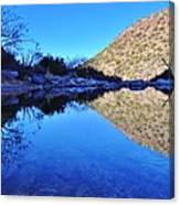 Bear Canyon Pool Canvas Print