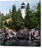 Bear Island Lighthouse Canvas Print