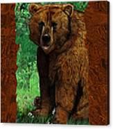 Bear Naked Canvas Print