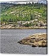 Bear River Creek Reservoir Canvas Print