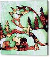 Bear Track 11 Canvas Print