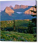 Bear Valley Glacier National Park Canvas Print