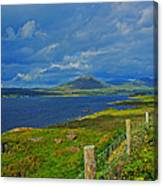Beara Peninsula West Kerry - On The Road To Lauragh Again Canvas Print