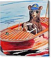 Bearboat Canvas Print
