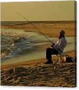 Bearded Fisherman Canvas Print