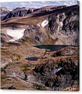 Beartooth Highway Cirques Canvas Print