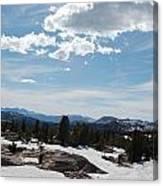 Beartooth Pass Clouds Canvas Print