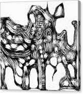 Beast 711 - Marucii Canvas Print