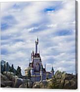 Beast Castle Canvas Print