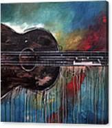 Bob Marley's First Canvas Print